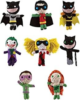 DC Comics BATMAN String Dolls (Set of 8)