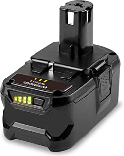 TREE.NB 18V 5000 mAh Battery for Ryobi One+ RB18L50 BPL-1815 BPL-1820G BPL1820 BPL18151 P102 P103 P104 P105 P106 P107 P108...