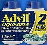 Advil Liquigels, 200 Miligrams, 240 Count...