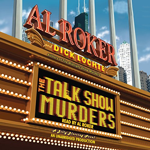 The Talk Show Murders audiobook cover art