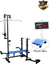 FITNESS MANIA Multipurpose Gym Bench 20 in 1 Bench (Black)