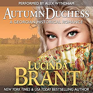 Autumn Duchess: A Georgian Historical Romance audiobook cover art