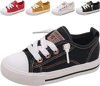 Boy's Girl's Casual Slip On Adjustable Canvas Sneakers (Toddler/Little Kid/Big Kid)