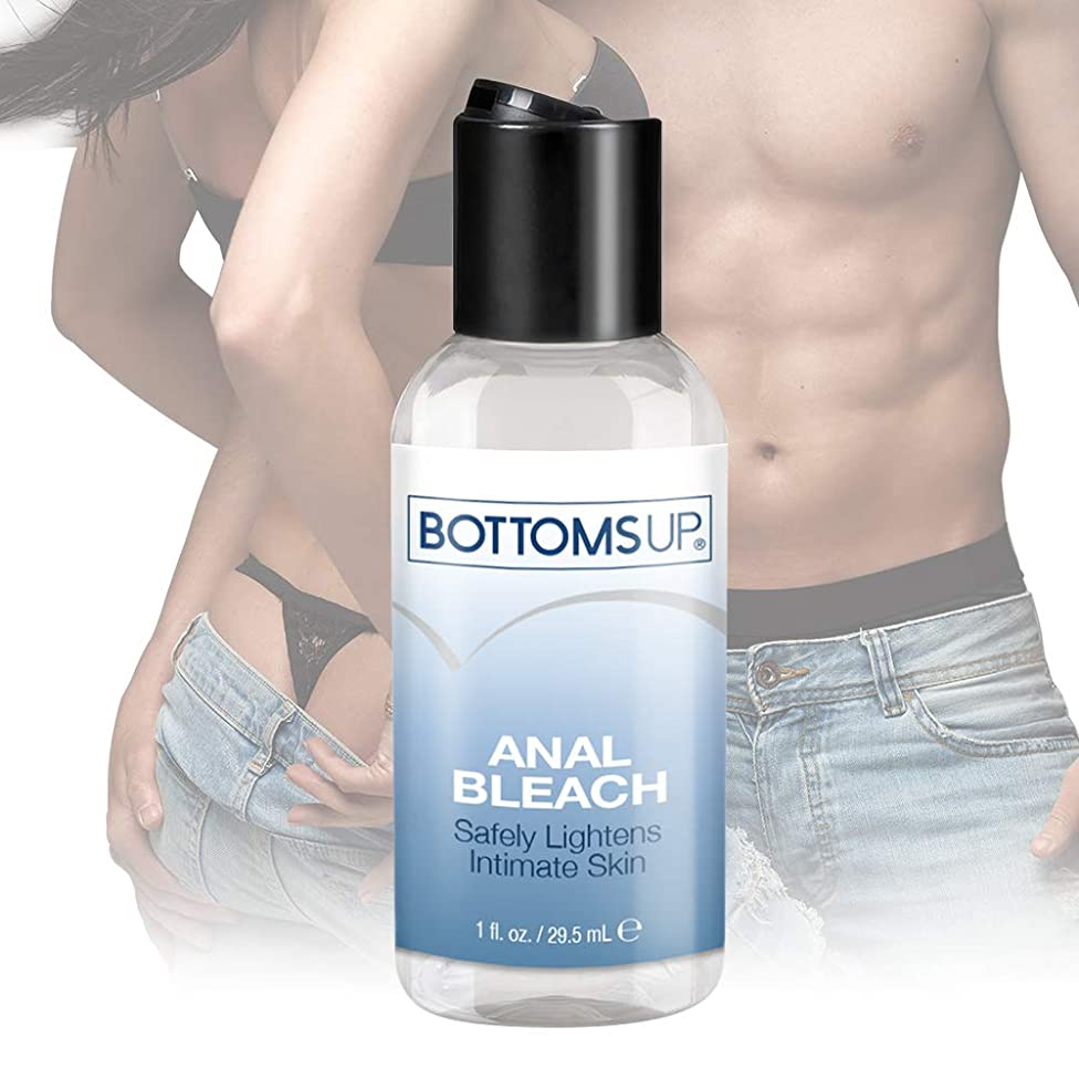 Topco Bottoms Up Anal Bleach Personal Lubricant for Sensitive Skin Paraben-Free Hypoallergenic, 1 Ounce