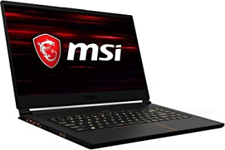 MSI GS65 Stealth Thin and Light Premium Gaming and Business Laptop (Intel 8th Gen i7-8750H, 32GB RAM, 512GB Sata SSD, 15.6