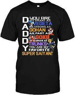 daddy super saiyan shirt