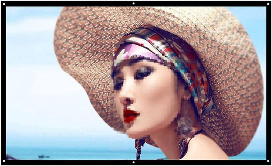 TWDYC 16:9 Full Fashionable HD Projector Screen Home 100 In Cinema 60 150 72 2021 model