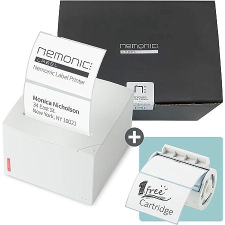 Nemonic Label ネモニクラベル - ラベルプリンター&付箋プリンター 感熱式ラベルプリンター ラベルメーカー ステッカープリンター Bluetooth対応ラベルプリンター iOS & Android & MS Office対応
