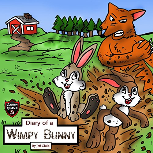 Diary of a Wimpy Bunny audiobook cover art
