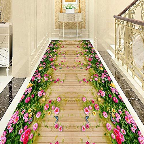 Geeyu Tappeto corridoio passatoia Lungo Runner, Heavy Duty Resistente all'Usura, Passatoia Corridoio Moderna 80x300, Perfetto for Il Corridoio Corridoio & Scale (Color : A, Size : 200x140cm)