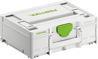 Festool 204841 Systainer T-LOC SYS-3 M 137 396 x 296 x 137 mm, färg, 396 mm x 296 mm x 137 mm