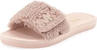 MK Fuzzy Pool Slide Sandals