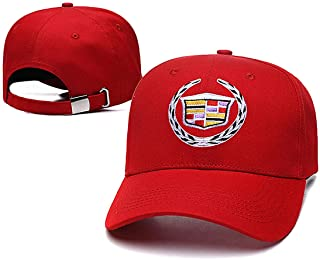 Yoursport Baseball Cap,Unisex Adjustable Hat Travel Cap for Man,Women - Fit Cadillac Accessories