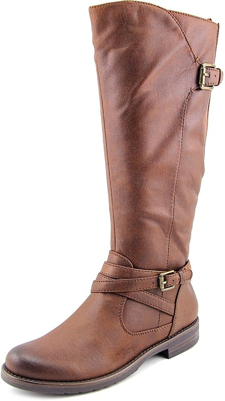 BareTraps Corrie Riding Boots, Brush Brown, 6 US