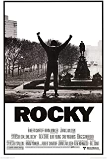 Picture Peddler Laminated Rocky Movie Poster His Whole Life was a Million to one Shot, 24x36