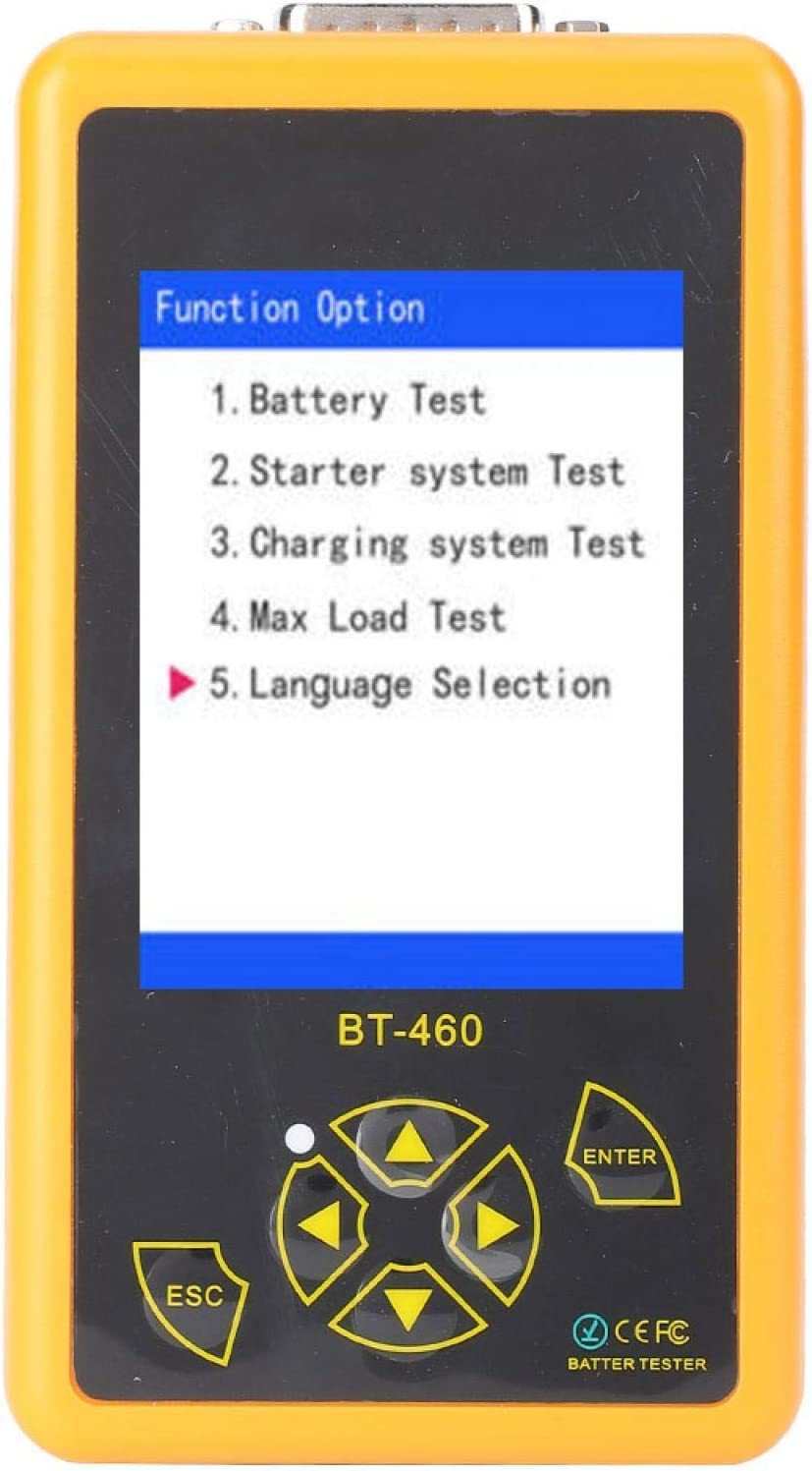 Jeanoko Max 74% OFF Capacity Colorful TFT Display Battery Ranking TOP15 Car Tester Measure