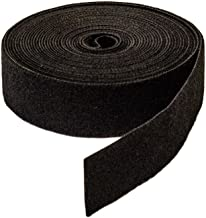 NavePoint 1 Inch Roll Hook and Loop Reusable Cable Ties Wraps Straps - 5M 15ft