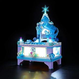 LIGHTAILING Ljusuppsättning för (Disney Frozen II Elsas smyckeskrin skapande) byggklossar modell - LED-ljussats kompatibel...