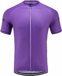 Uglyfrog Designs Bike Wear Men's Cycling Jerseys Tops Biking Shirts Short Bike Clothing Full Zip Bicycle Jacket with Pockets