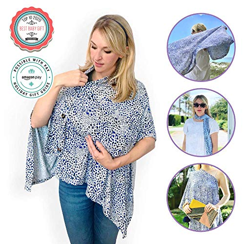 Big Save! Mina & Vine Multifunctional Nursing Scarf Cover: Award Winning, Temperature Regulating, Ma...