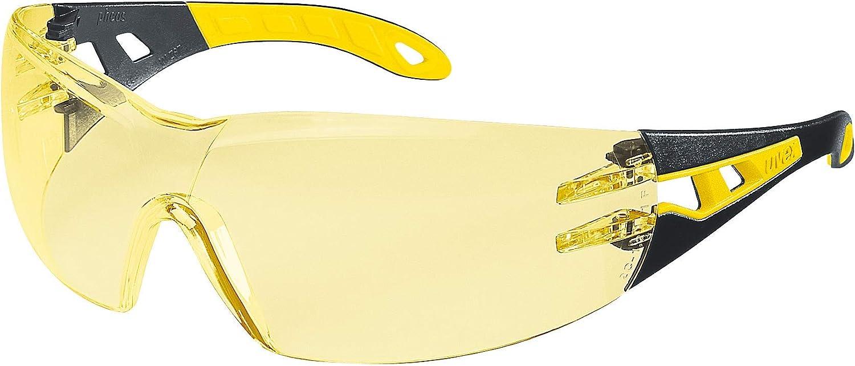 Uvex Pheos Retail Suprav. Excellence - Gafas protectoras, color amarillo, negro y amarillo