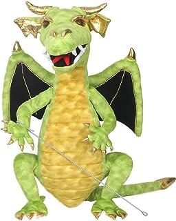 The Puppet Company Shiny Green Dragon Hand Puppet