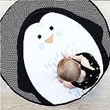 Goodtimes28Cartoon Tier Pinguin Baby Kleinkind Play Krabbeldecke Teppich Infant Aktivität Teppich Multi