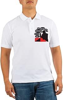Donald Trump-Mr. Right Golf Shirt - Golf Shirt, Pique Knit Golf Polo