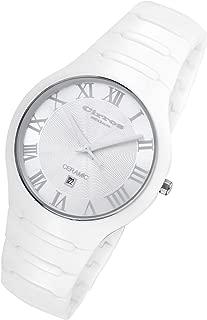 By Rougois Empire Series White on White Ceramic Watch