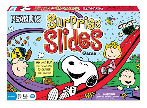 Wonder Forge Peanuts Surprise Slides Game