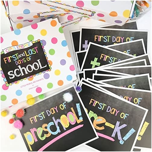 Class Keeper (Set Pastel Dots and Pastel Text Signs) |
