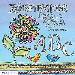 Zenspirations letters & patterning Joanne Fink