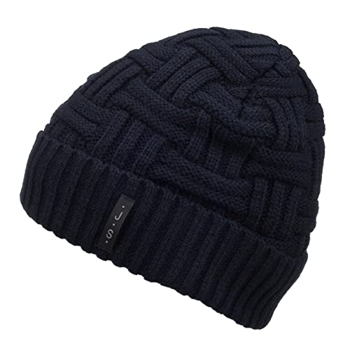 ff798a712b0 Spikerking Mens Winter Knitting Wool Warm Hat Daily Slouchy Hats Beanie  Skull Cap
