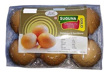 Suguna Gold Brown Eggs (Pack of 6)