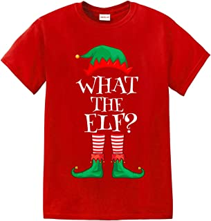 What The Elf Christmas Shirt Matching Family Group Festive Holiday Tshirt