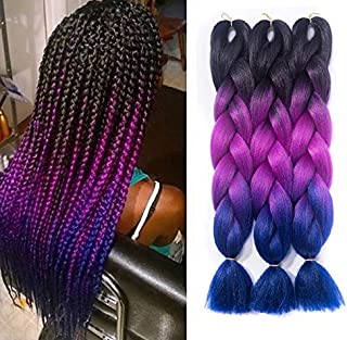 Best dark gray braiding hair Reviews
