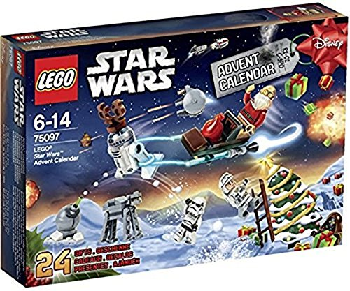 LEGO STAR WARS - Calendario de Adviento, 292 Piezas (75097