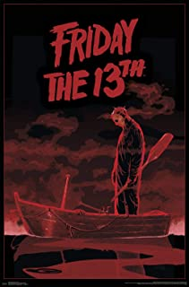 Trends International Friday The 13th-Boat Clip Bundle Wall Poster, 22.375