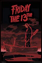 Trends International Friday The 13th - Boat Wall Poster, 22.375