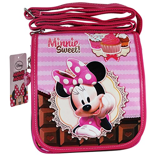Disney Minnie Mouse Sweet Cake Bolso Infantil Correa Vertical Mini