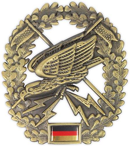 Original Bundeswehr Barettabzeichen aus Metall in verschiedenen Sorten zur Auswahl Farbe Fernspäher