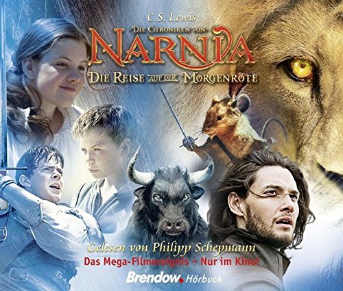 Die Chroniken von Narnia - Die Reise auf der Morgenröte. Hörbuch 5 CDs. Gelesen von Philipp Schepmann