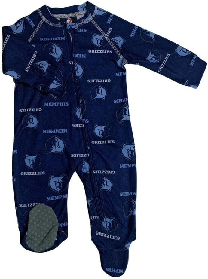 Outerstuff Infant Toddler Memphis Grizzlies Slee Up Branded goods favorite Coverall Zip