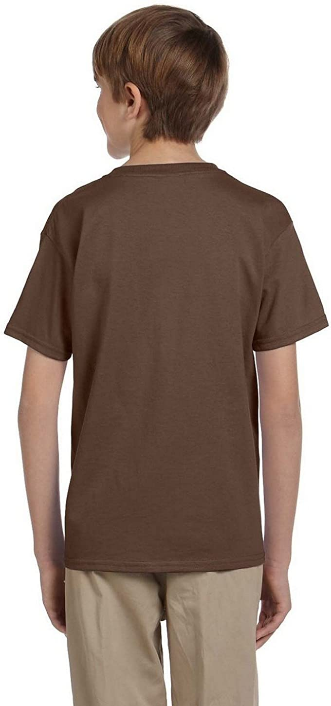 Fruit of the Loom 3930BR HD Cotton Youth Short Sleeve T-Shirt