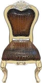 كرسي خشبي متين طراز قديم G001 من لايف إكسلانس