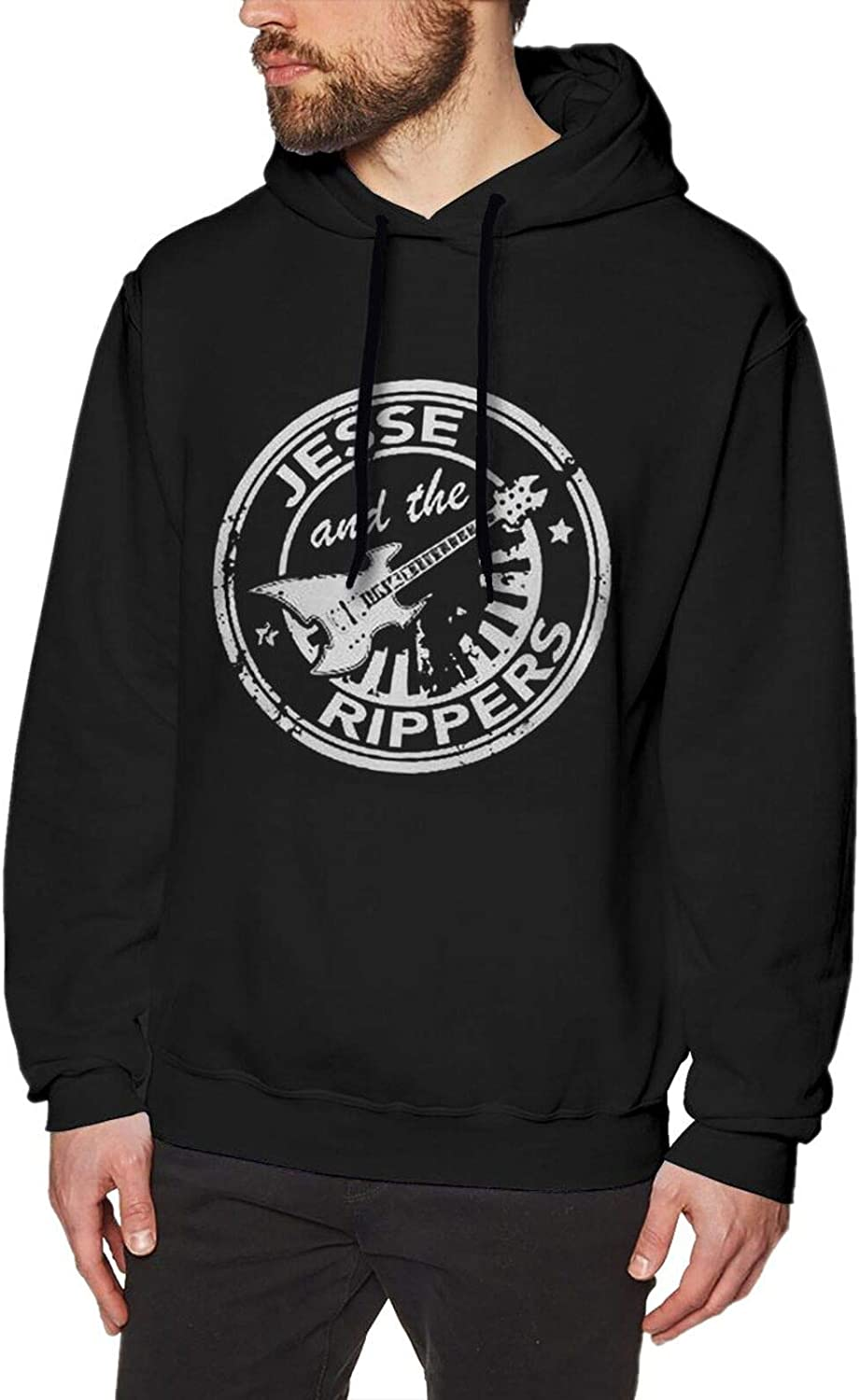 San Francisco Mall Adults gift Man Jesse and The Rippers Band Sweatshirt Hooded Sle Long