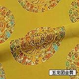 Meterware als Dekostoff- Chinesische Art Brokat Jacquard