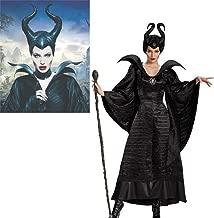 GACOSPLAY Película Maléfica Disfraz De Bruja Negra(Maléfica ...