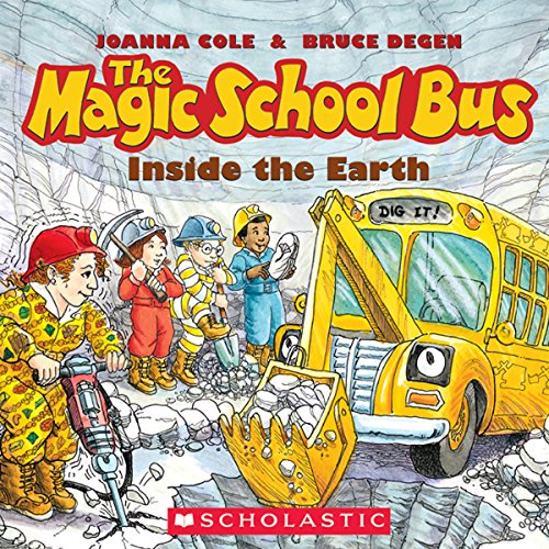 The Magic School Bus: Inside the Earth audiobook cover art