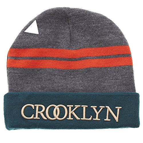 Cayler And Sons - Bonnet Homme Crooklyn Beanie - Grey/Forest Green/Red